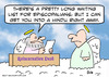 Cartoon: episcopalian hindu heaven (small) by rmay tagged episcopalian,hindu,heaven
