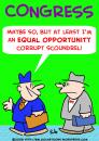 Cartoon: EQUAL OPPORTUNITY CONGRESS (small) by rmay tagged equal,opportunity,congress