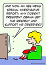Cartoon: get respect support obama (small) by rmay tagged get,respect,support,obama
