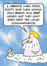 Cartoon: god ten lousy commandments (small) by rmay tagged god,ten,lousy,commandments