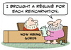 Cartoon: guru resume each reincarnation (small) by rmay tagged guru,resume,each,reincarnation